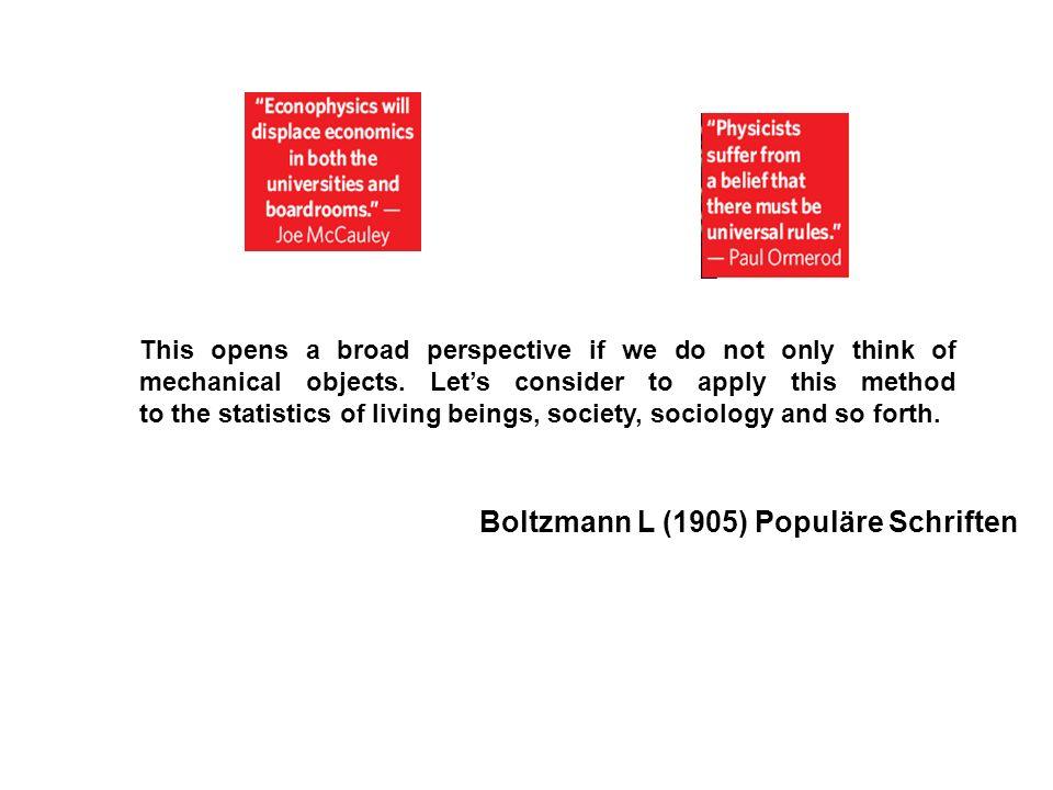 Boltzmann L (1905) Populäre Schriften