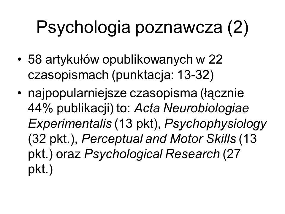 Psychologia poznawcza (2)