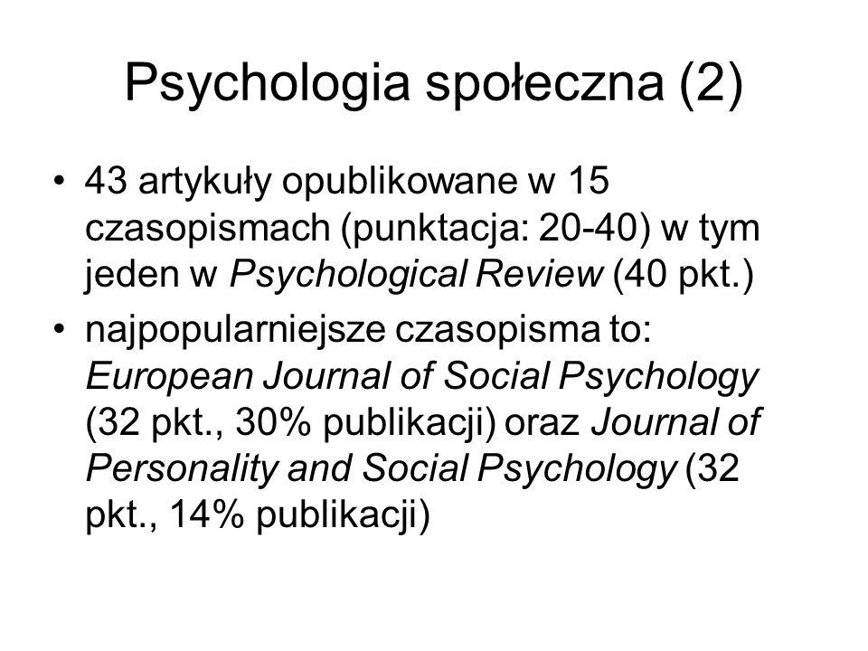 Psychologia społeczna (2)