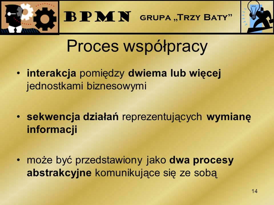 Proces współpracy BPMN