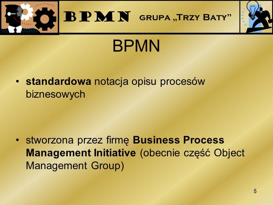 BPMN BPMN standardowa notacja opisu procesów biznesowych
