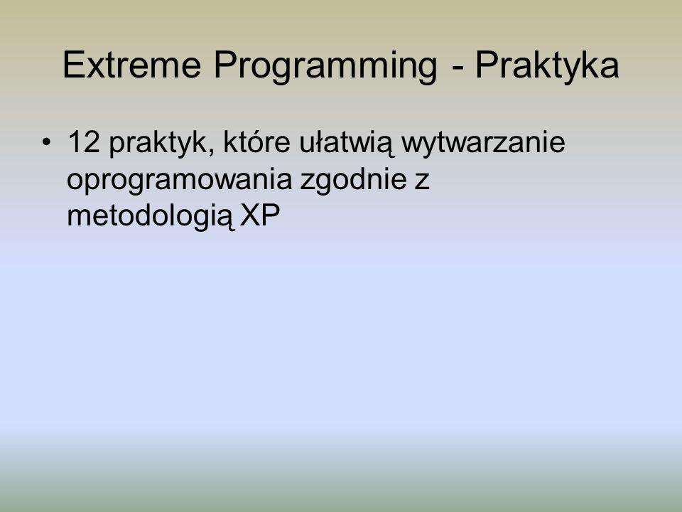 Extreme Programming - Praktyka