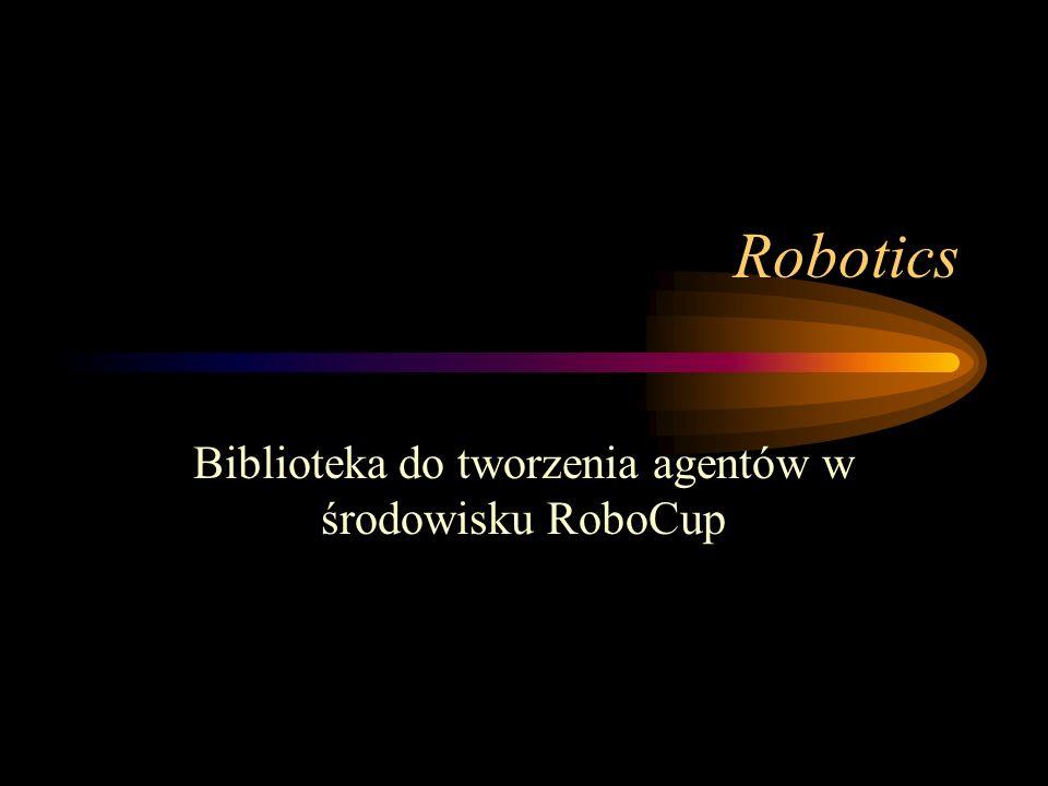 Biblioteka do tworzenia agentów w środowisku RoboCup