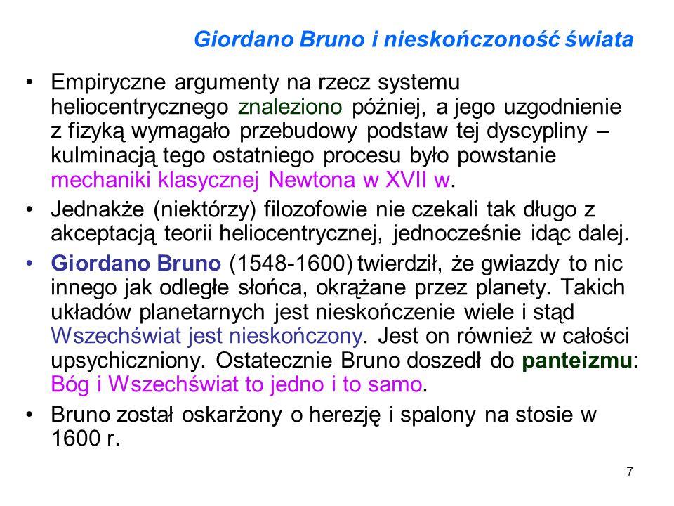 Giordano Bruno i nieskończoność świata