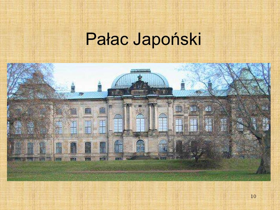 Pałac Japoński