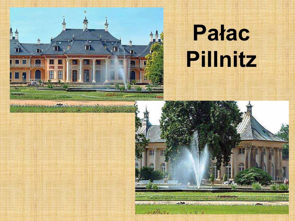 Pałac Pillnitz