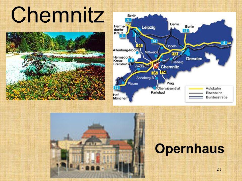 Chemnitz Opernhaus