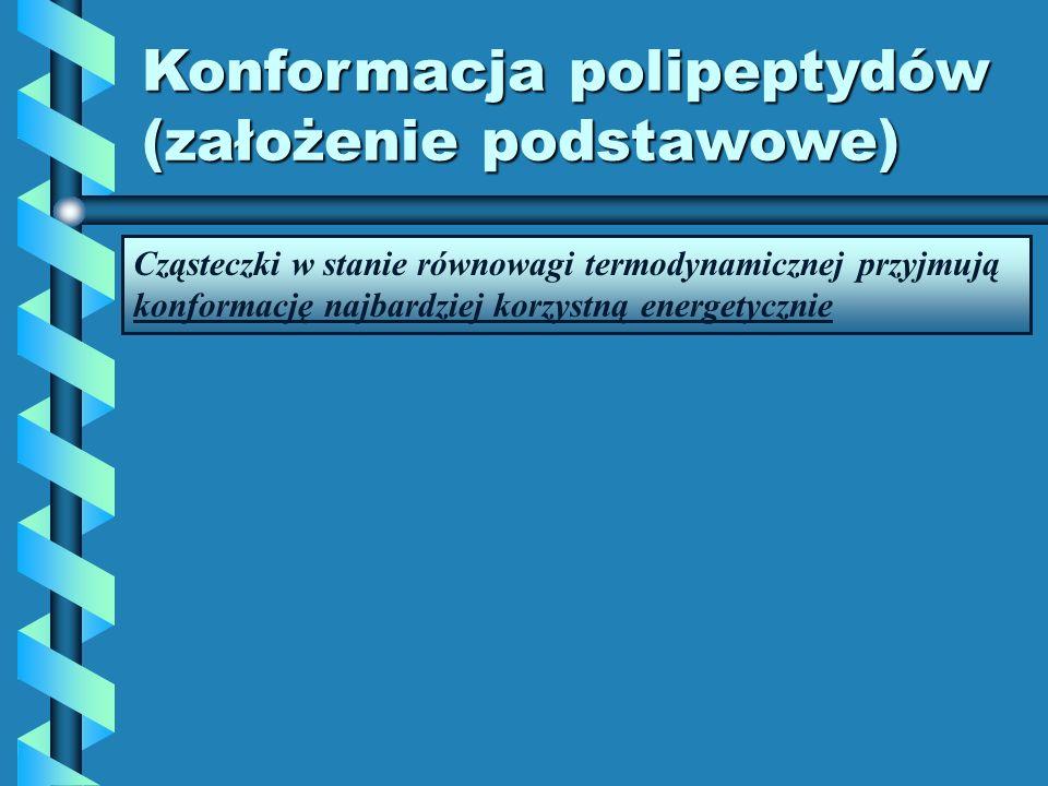 Konformacja polipeptydów (założenie podstawowe)