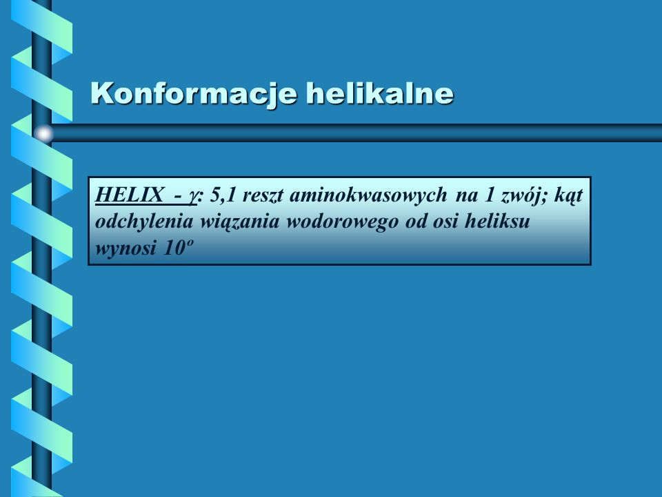 Konformacje helikalne