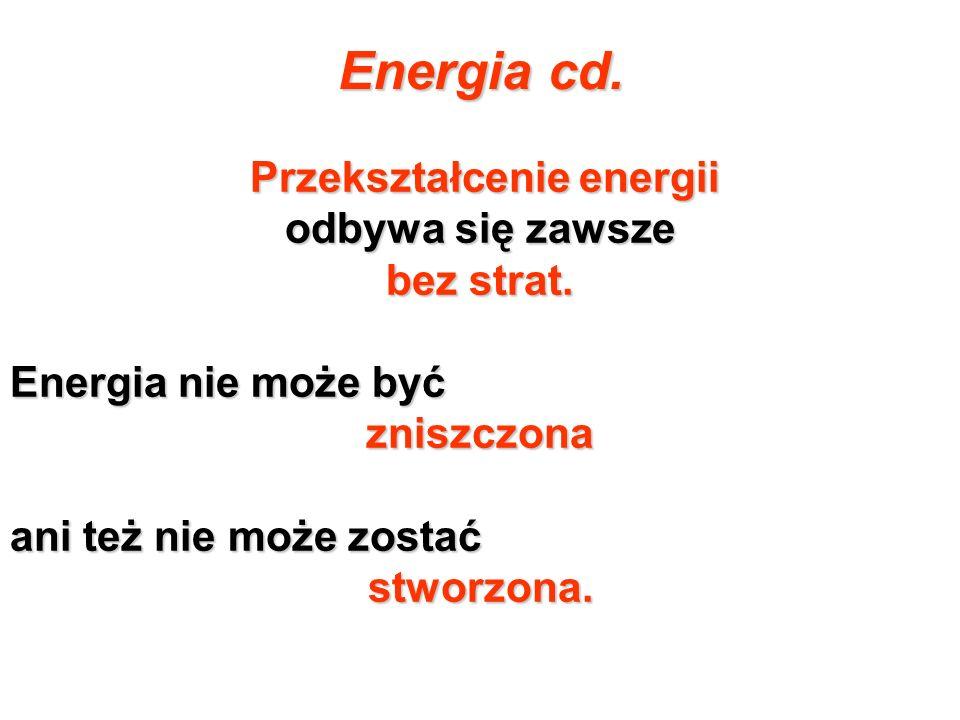 Przekształcenie energii