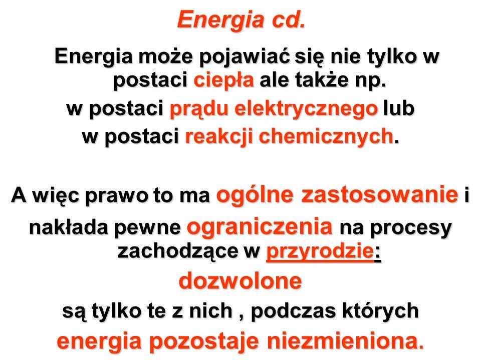Energia cd. dozwolone energia pozostaje niezmieniona.