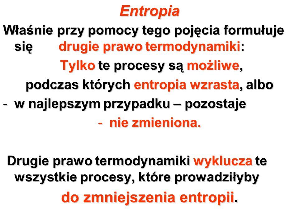 Entropia do zmniejszenia entropii.