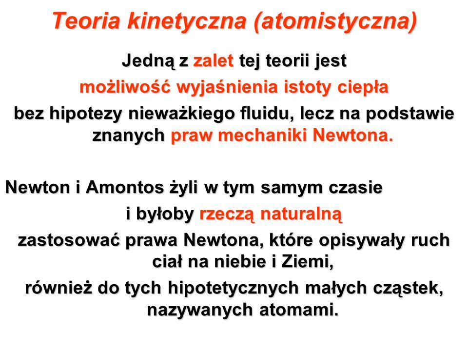 Teoria kinetyczna (atomistyczna)