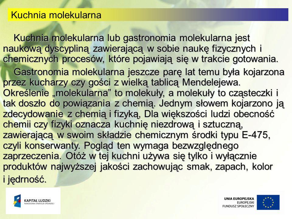 Kuchnia molekularna