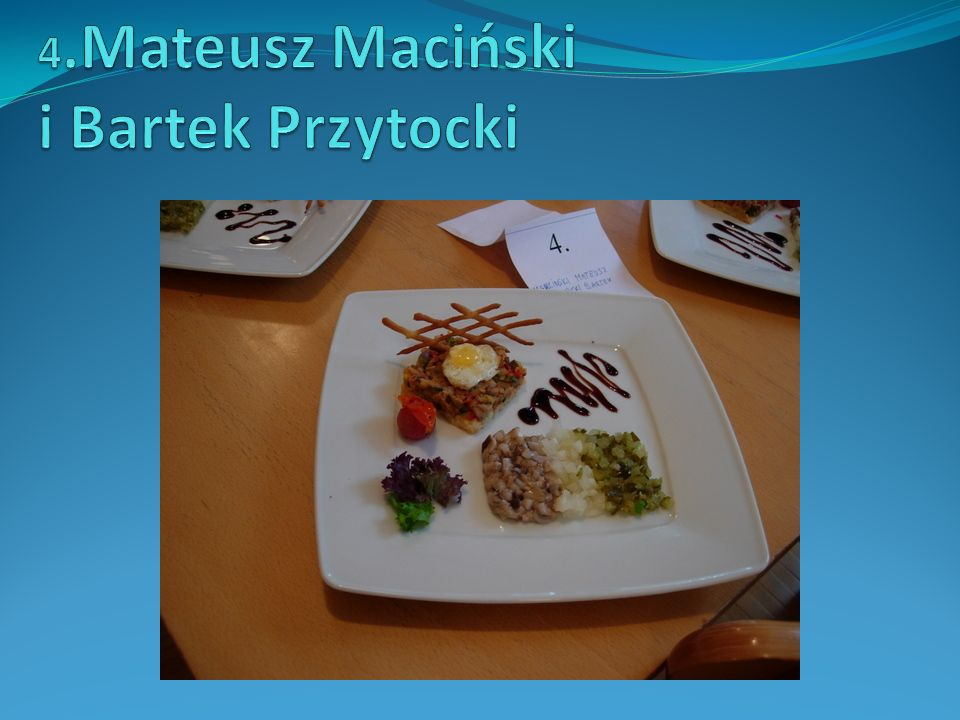 4.Mateusz Maciński i Bartek Przytocki