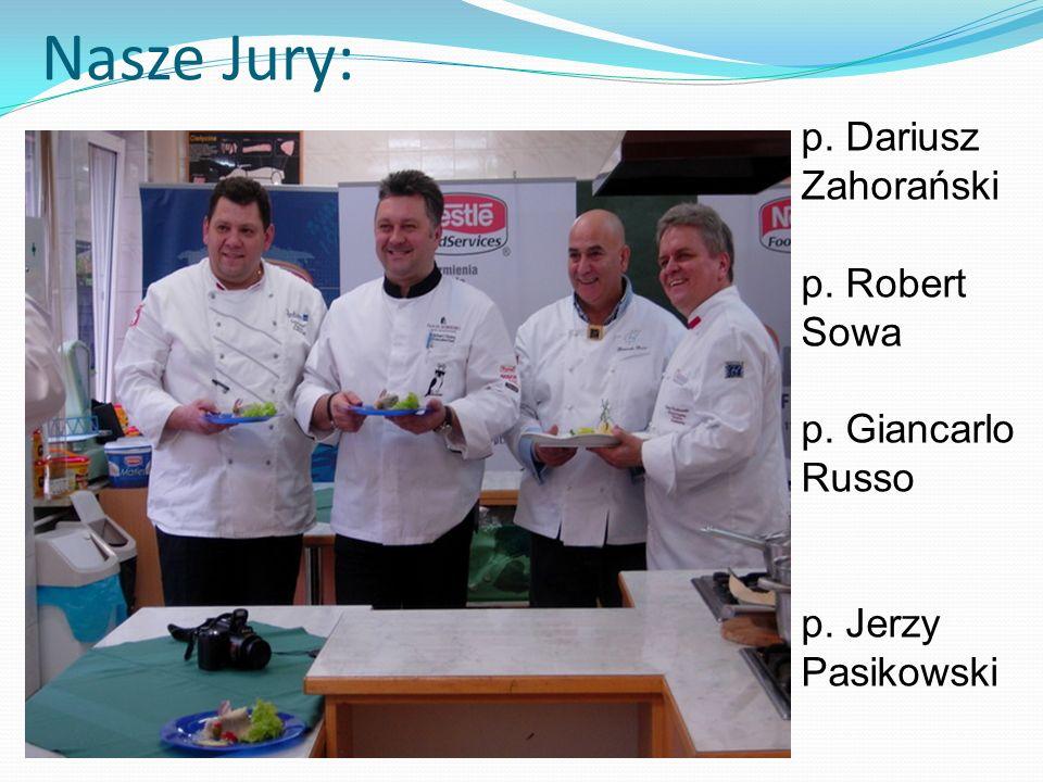Nasze Jury: p. Dariusz Zahorański p. Robert Sowa p. Giancarlo Russo