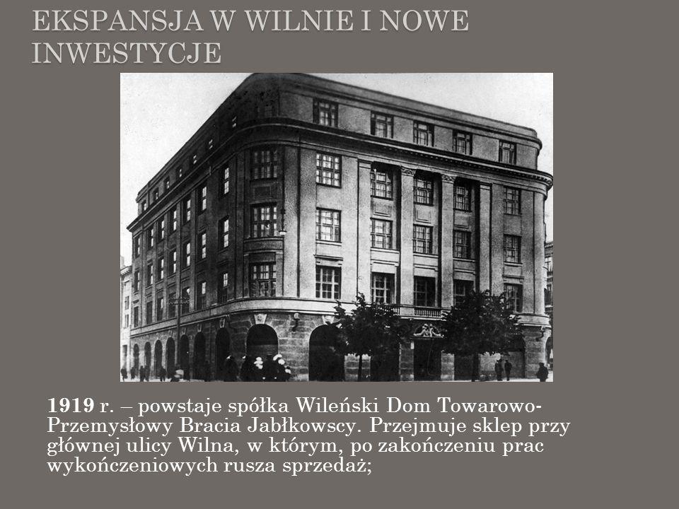 Ekspansja w Wilnie i Nowe inwestycje