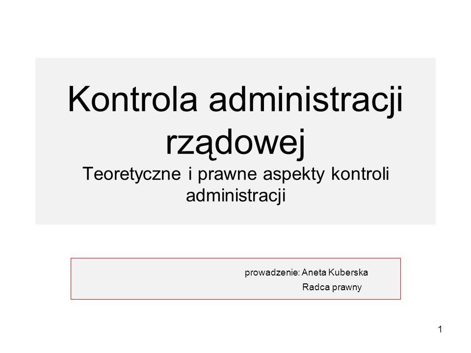 prowadzenie: Aneta Kuberska Radca prawny