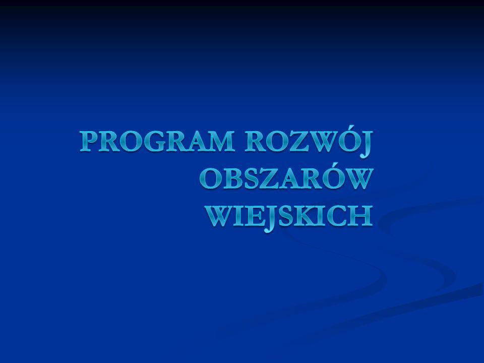 Program Rozwój Obszarów Wiejskich