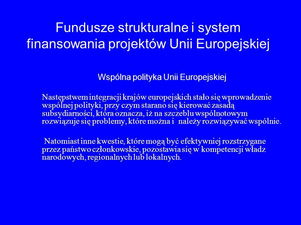 Wspólna polityka Unii Europejskiej