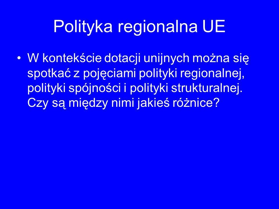 Polityka regionalna UE