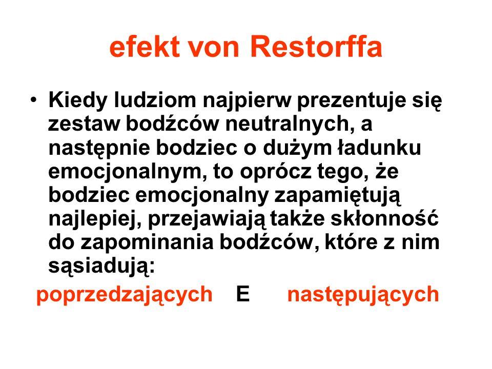 efekt von Restorffa