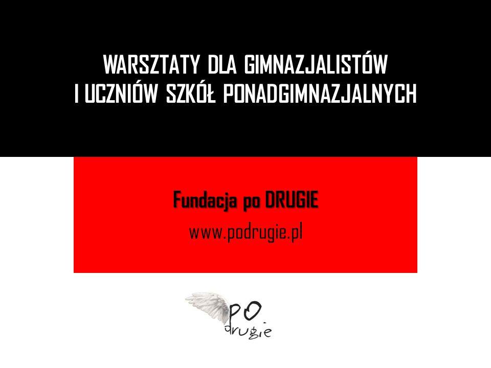 Fundacja po DRUGIE www.podrugie.pl