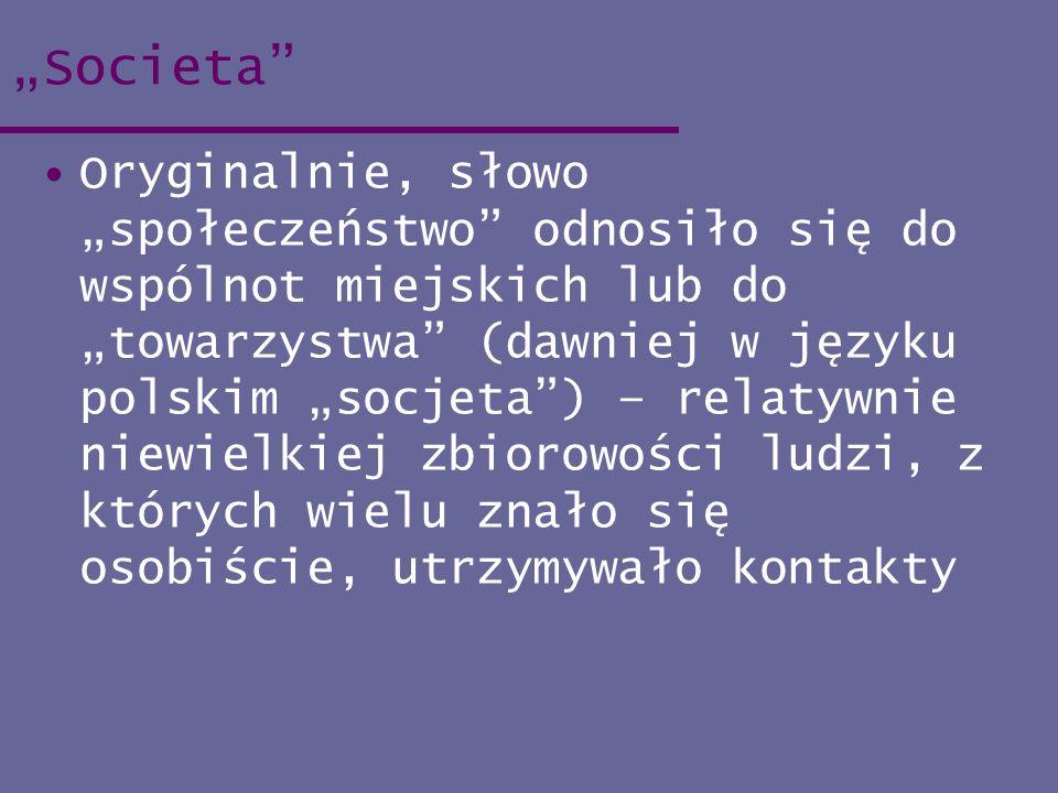 """""""Societa"""