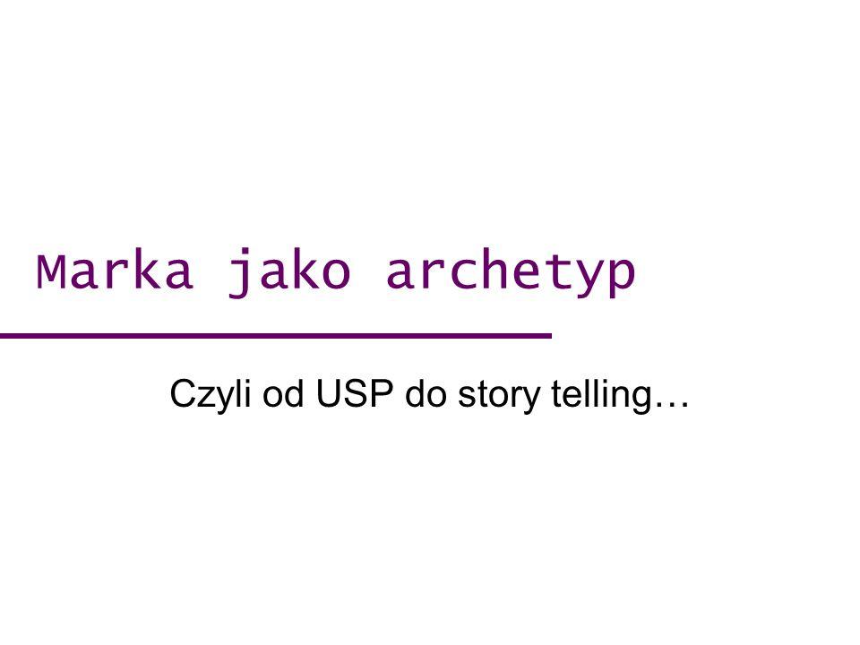 Czyli od USP do story telling…