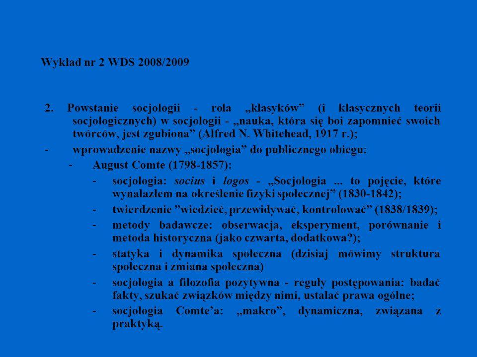 Wykład nr 2 WDS 2008/2009