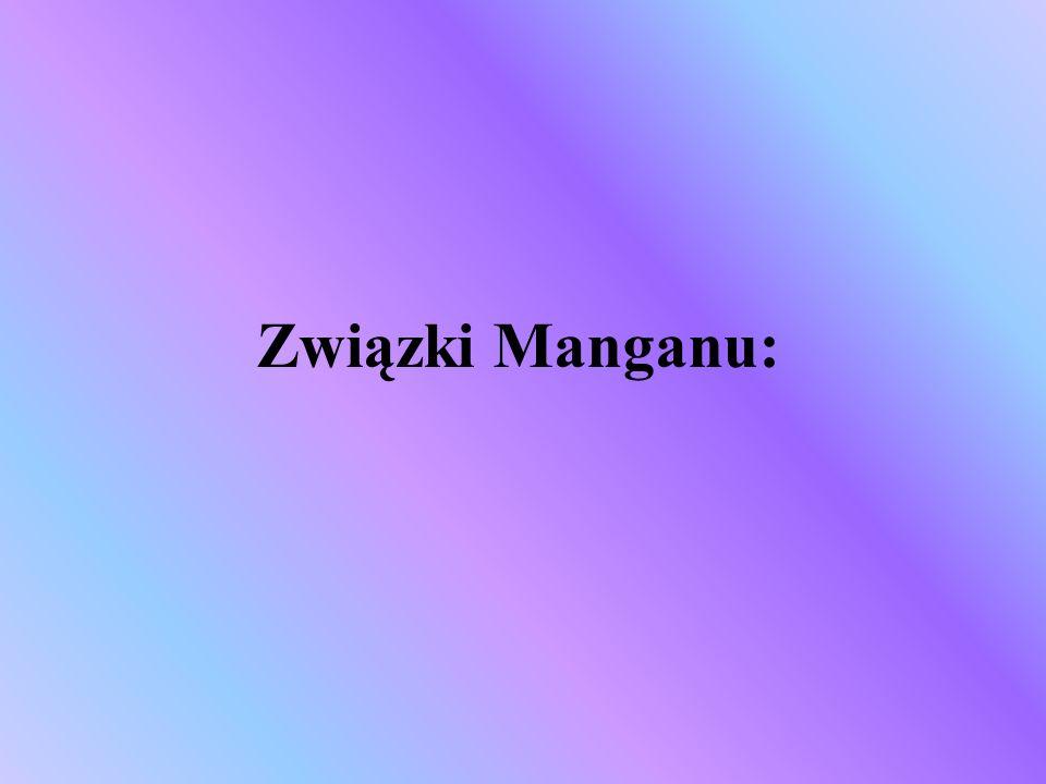 Związki Manganu: