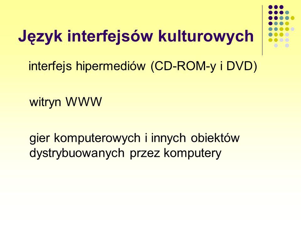 Język interfejsów kulturowych