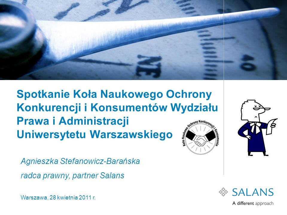 Spotkanie Koła Naukowego Ochrony Konkurencji i Konsumentów Wydziału Prawa i Administracji Uniwersytetu Warszawskiego