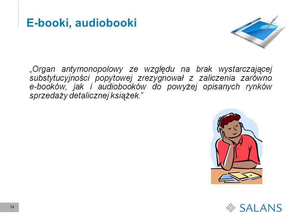 E-booki, audiobooki