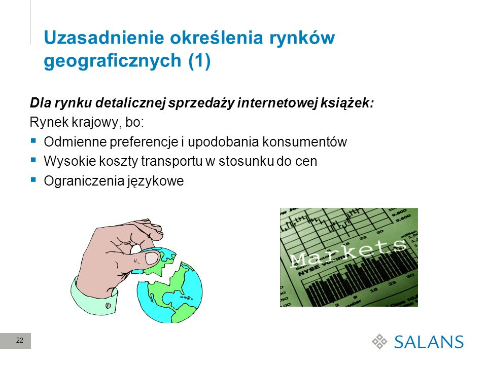 Uzasadnienie określenia rynków geograficznych (1)