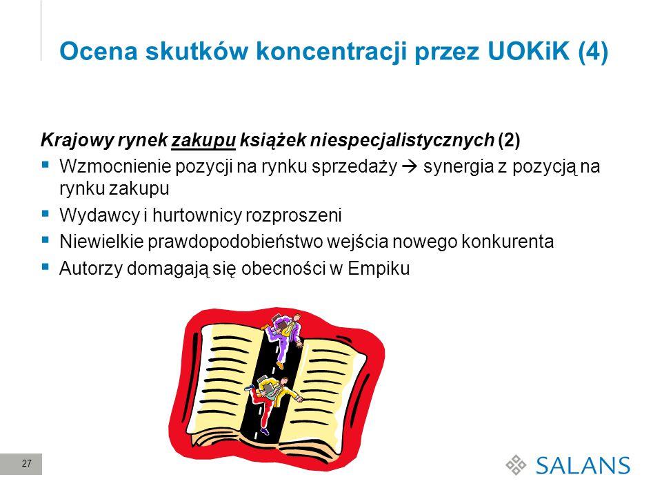 Ocena skutków koncentracji przez UOKiK (4)