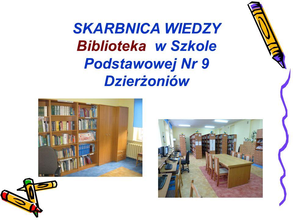 Biblioteka w Szkole Podstawowej Nr 9 Dzierżoniów