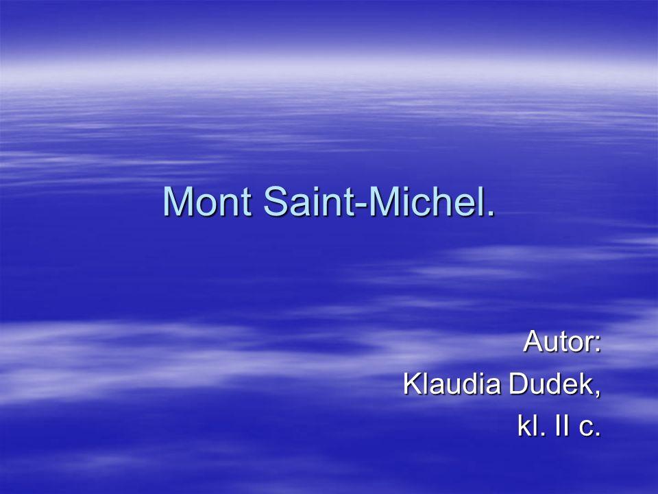 Autor: Klaudia Dudek, kl. II c.
