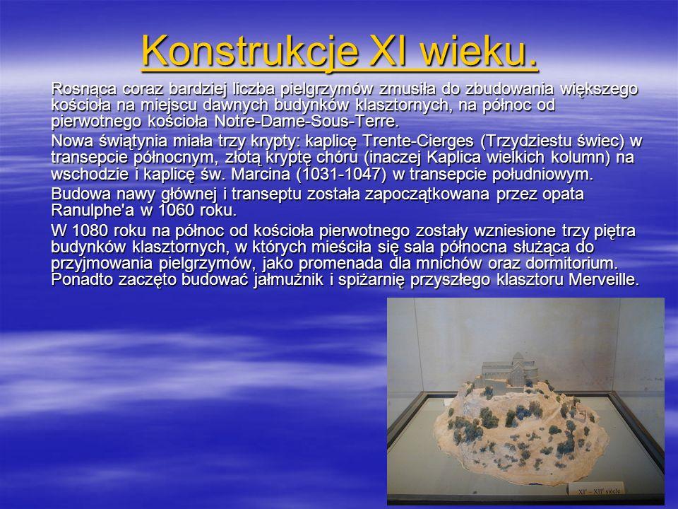 Konstrukcje XI wieku.