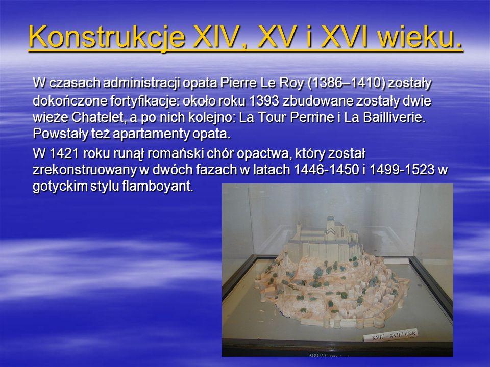 Konstrukcje XIV, XV i XVI wieku.