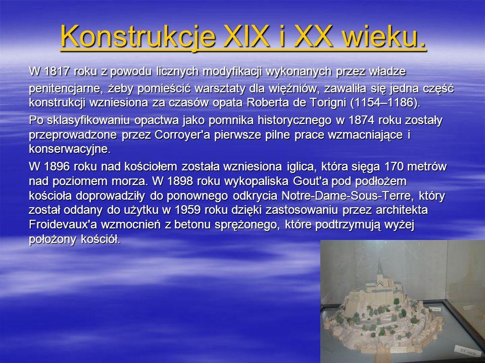 Konstrukcje XIX i XX wieku.