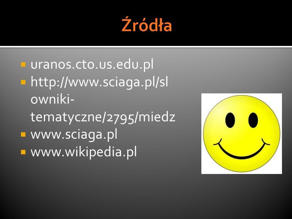 Źródła uranos.cto.us.edu.pl