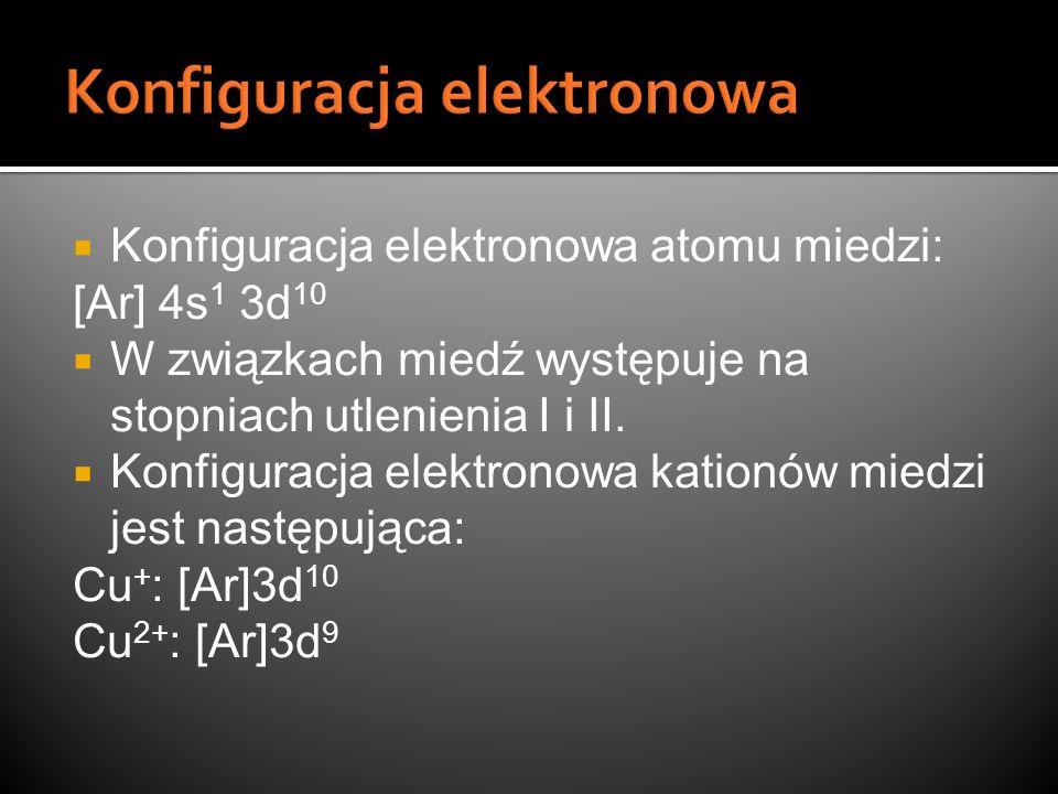 Konfiguracja elektronowa
