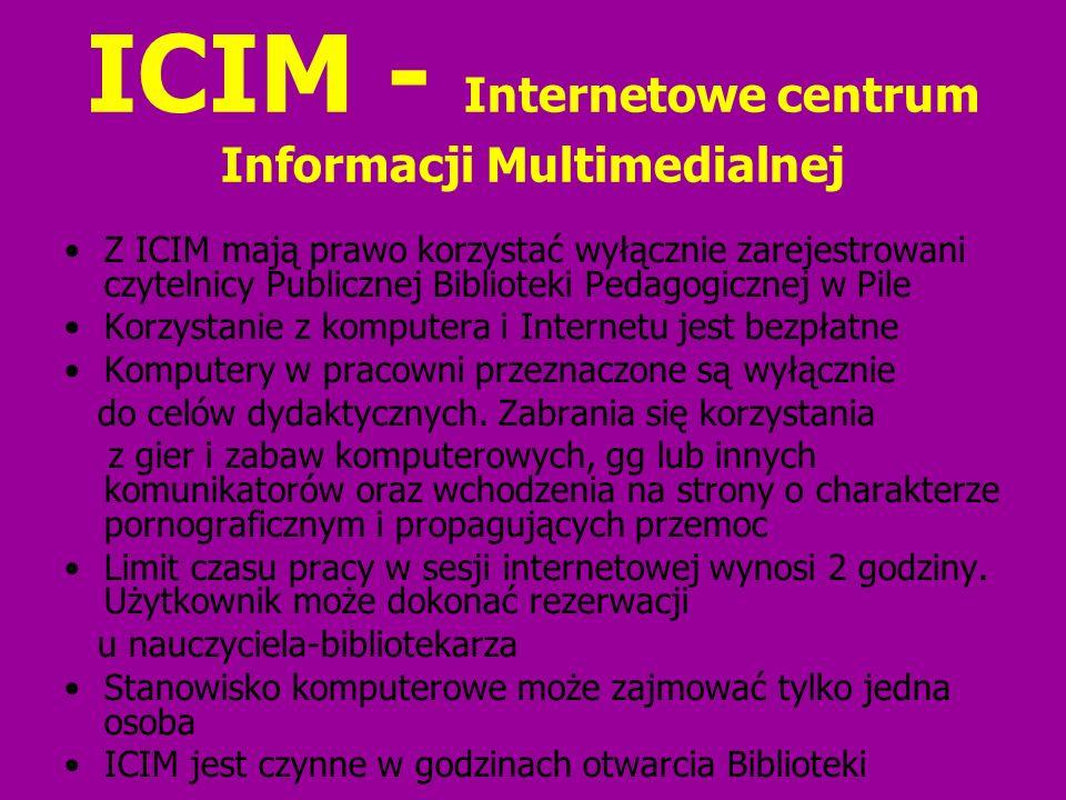 ICIM - Internetowe centrum Informacji Multimedialnej