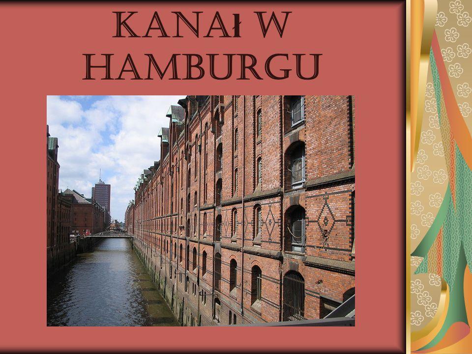 Kanał w Hamburgu