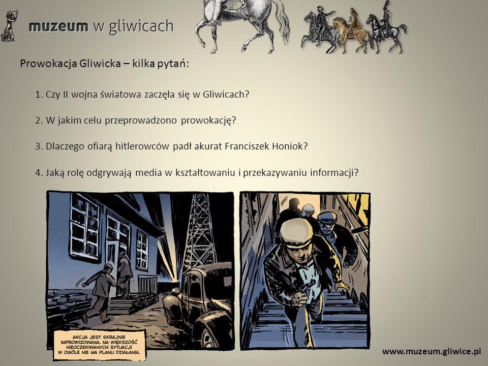 Prowokacja Gliwicka – kilka pytań: