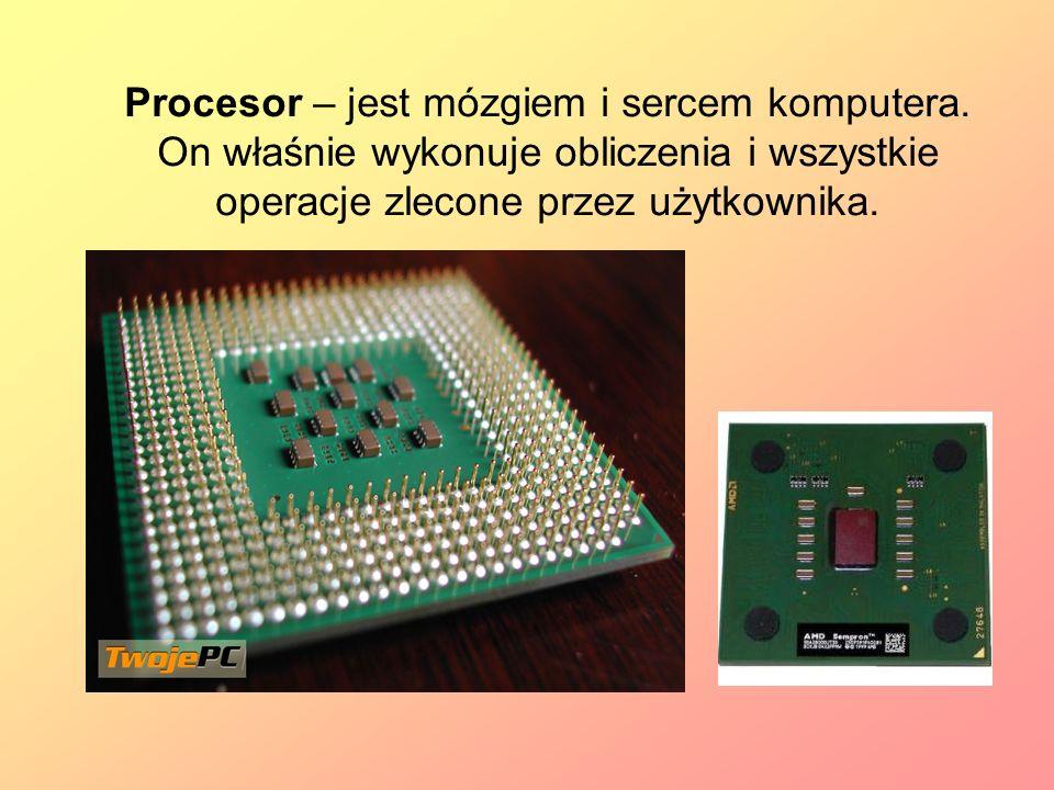 Procesor – jest mózgiem i sercem komputera