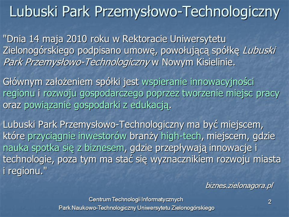 Lubuski Park Przemysłowo-Technologiczny