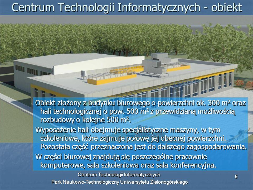 Centrum Technologii Informatycznych - obiekt