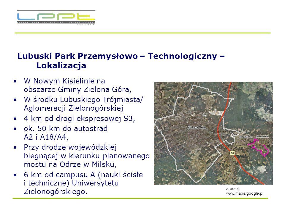 Lubuski Park Przemysłowo – Technologiczny – Lokalizacja